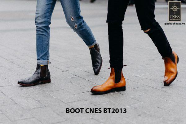 Giày da nam Chelsea Boot CNES BT2013 005