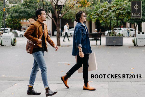 Giày da nam Chelsea Boot CNES BT2013 002