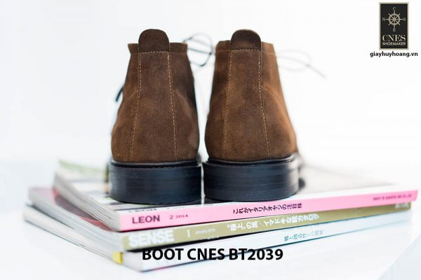 Giày da nam cổ lửng Chukka Boot CNES BT2039 004