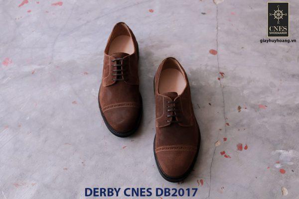 Giày tây nam da lộn Derby CNES DB2017 001