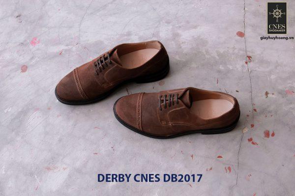 Giày tây nam da lộn Derby CNES DB2017 002