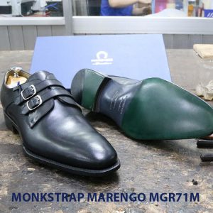 Giày da nam Monkstrap Marengo MGR71M 004