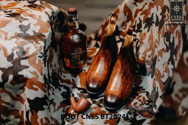 Giày da nam cao cấp Boot CNES BT2024 001