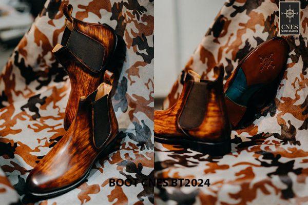 Giày da nam cao cấp Boot CNES BT2024 003