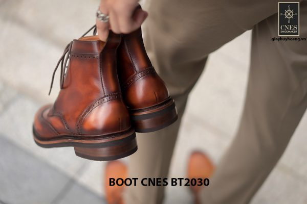 Giày tây nam Boot CNES BT2030 006