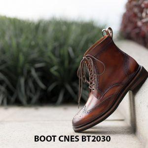 Giày tây nam Boot CNES BT2030 005