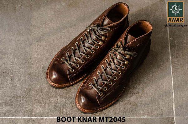 Giày Boot cột dây phong cách KNAR BT2045 008