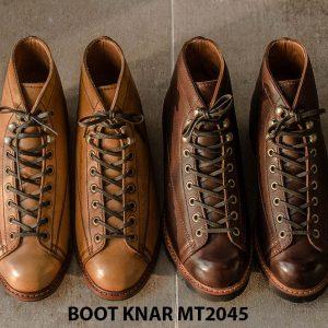 Giày Boot cột dây phong cách KNAR BT2045 001