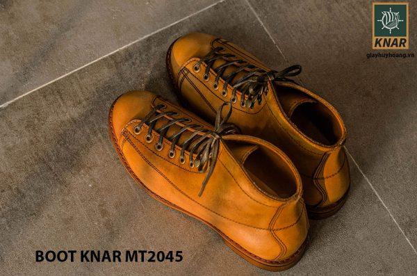 Giày Boot cột dây phong cách KNAR BT2045 007