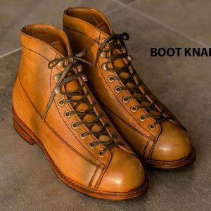 Giày Boot cột dây phong cách KNAR BT2045 003