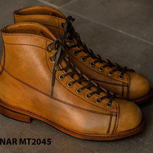 Giày Boot cột dây phong cách KNAR BT2045 002