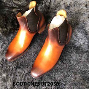 Giày da nam cổ cao Boot CNES BT2050 002