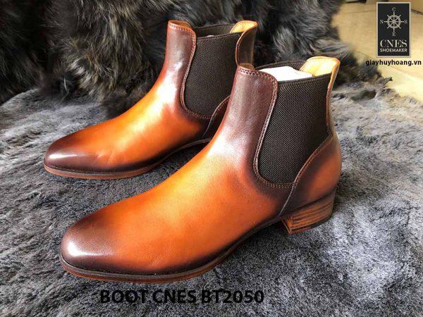 Giày da nam cổ cao Boot CNES BT2050 001