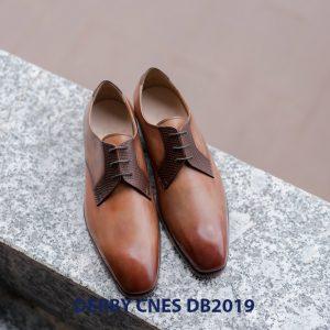 Giày da nam buộc dây Derby CNES DB2019 001