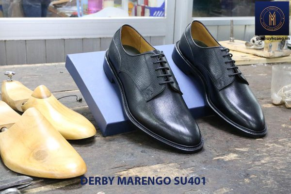 [Outlet size 39+43] Giày da dập vân Derby Marengo SU401 006