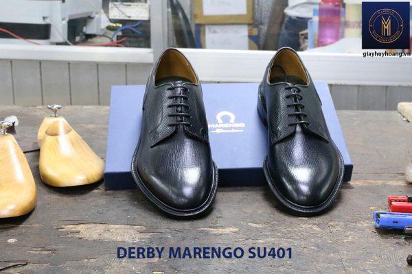 [Outlet size 39+43] Giày da dập vân Derby Marengo SU401 001