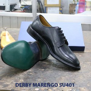 [Outlet size 39+43] Giày da dập vân Derby Marengo SU401 005