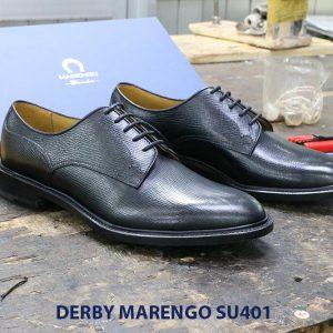 [Outlet size 39+43] Giày da dập vân Derby Marengo SU401 003