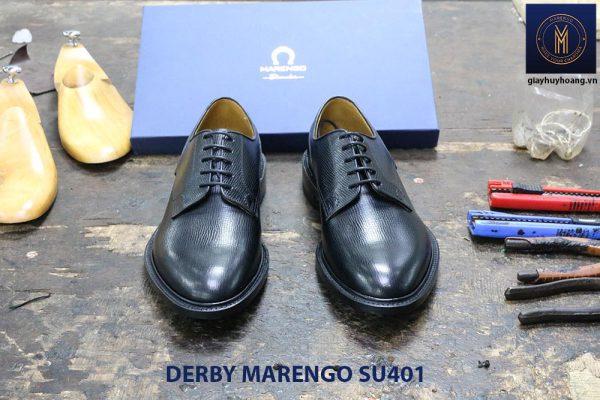 [Outlet size 39+43] Giày da dập vân Derby Marengo SU401 002