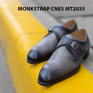 Giày tây nam chính hãng Monkstrap CNES MT2035 007