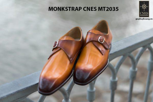 Giày tây nam chính hãng Monkstrap CNES MT2035 005