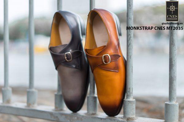 Giày tây nam chính hãng Monkstrap CNES MT2035 004