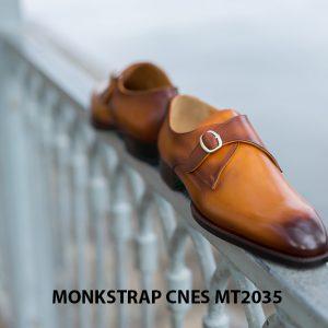 Giày tây nam chính hãng Monkstrap CNES MT2035 003