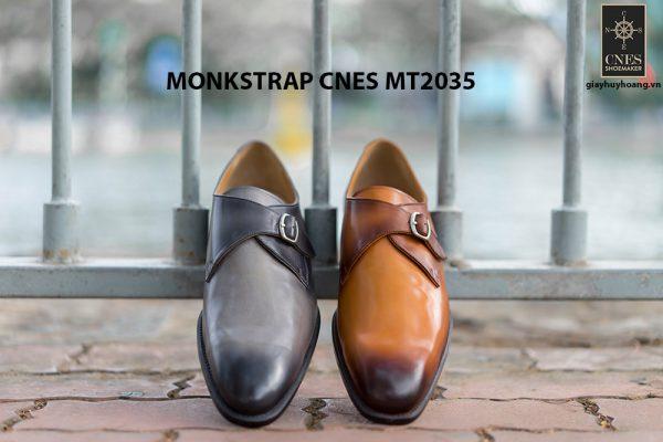 Giày tây nam chính hãng Monkstrap CNES MT2035 001