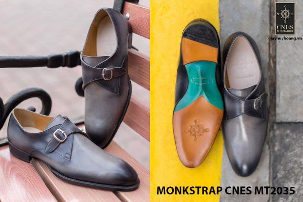 Giày tây nam chính hãng Monkstrap CNES MT2035 002
