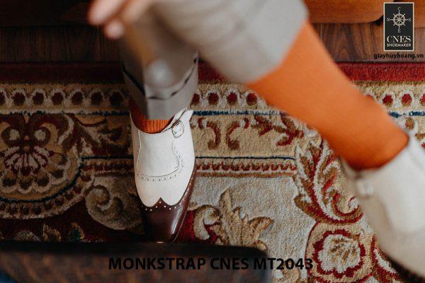 Giày da nam đế cao Monkstrap CNES MT2043 003