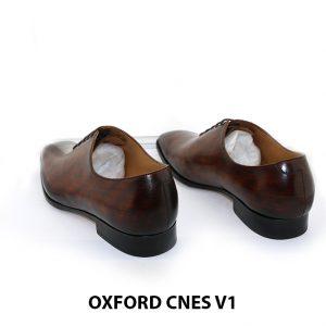 Giày tây da nam Oxford Wholecut CNES V1 004