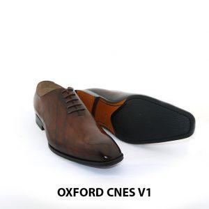 Giày tây da nam Oxford Wholecut CNES V1 003