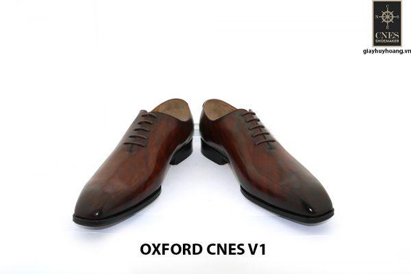 Giày tây da nam Oxford Wholecut CNES V1 002