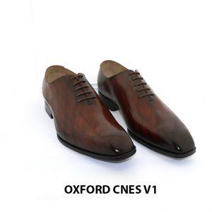 Giày tây da nam Oxford Wholecut CNES V1 001