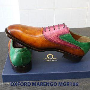 [Outlet Size 41] Giày da nam Saddle Oxford Marengo MGR106 005