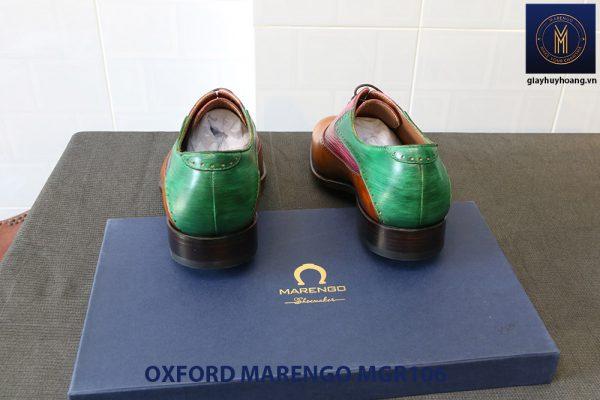 [Outlet Size 41] Giày da nam Saddle Oxford Marengo MGR106 004