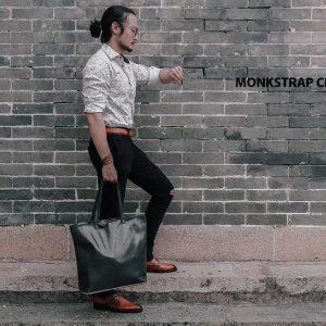 Giày tây nam cao cấp Monkstrap CNES MT2026 005