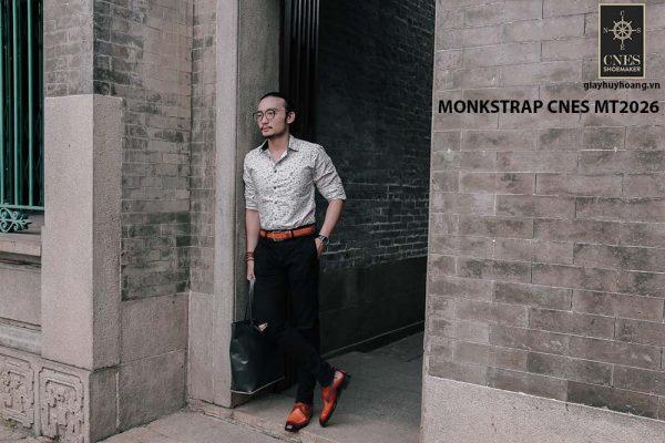 Giày tây nam cao cấp Monkstrap CNES MT2026 004