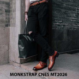 Giày tây nam cao cấp Monkstrap CNES MT2026 002