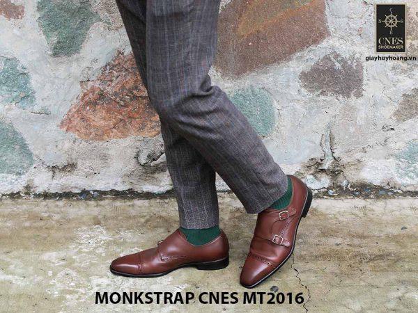 Giày da nam hai khóa Monkstrap CNES MT2016 001