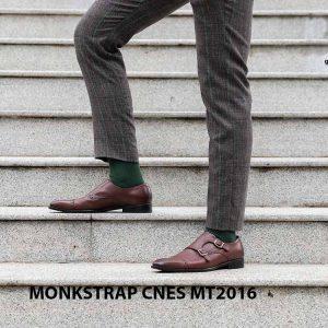 Giày da nam hai khóa Monkstrap CNES MT2016 004
