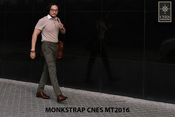 Giày da nam hai khóa Monkstrap CNES MT2016 003