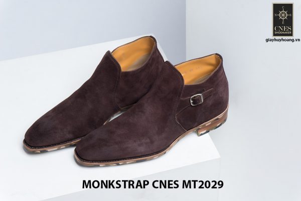 Giày da nam hàng hiệu Monkstrap CNES MT2029 001
