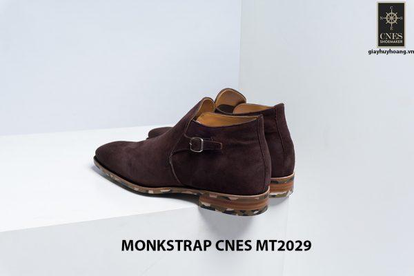 Giày da nam hàng hiệu Monkstrap CNES MT2029 004