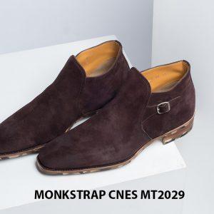 Giày da nam hàng hiệu Monkstrap CNES MT2029 003
