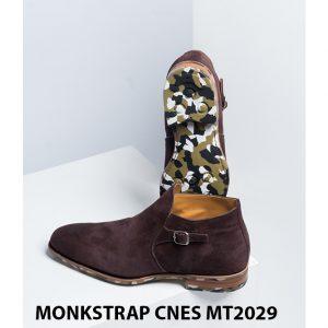 Giày da nam hàng hiệu Monkstrap CNES MT2029 002