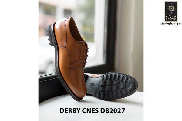 Giày tây nam đế da Derby CNES DB2027 004