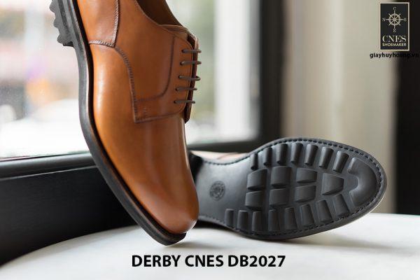 Giày tây nam đế da Derby CNES DB2027 003