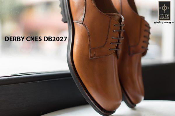 Giày tây nam đế da Derby CNES DB2027 002