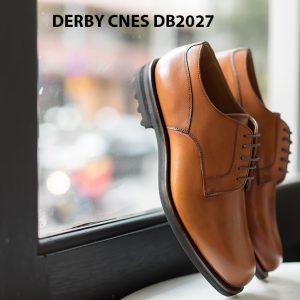 Giày tây nam đế da Derby CNES DB2027 001